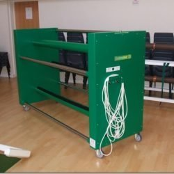 Electrowind - Electric Short mat and carpet bowls mat storage machine