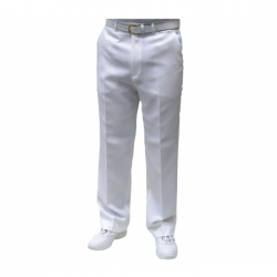 Emsmorn Mens White Trousers