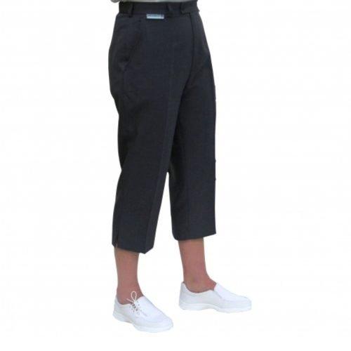 Emsmorn Ladies Trousers Cropped (Grey)