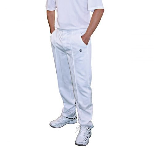 GENTS WHITE SPORTS TROUSERS